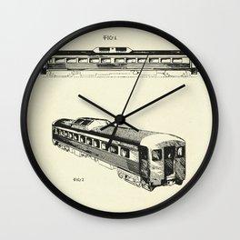 Railway Car-1951 Wall Clock
