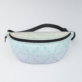 interlocking pattern / hexagonal / rainbow gradient Fanny Pack