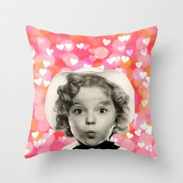 Forever Shirley Throw Pillow