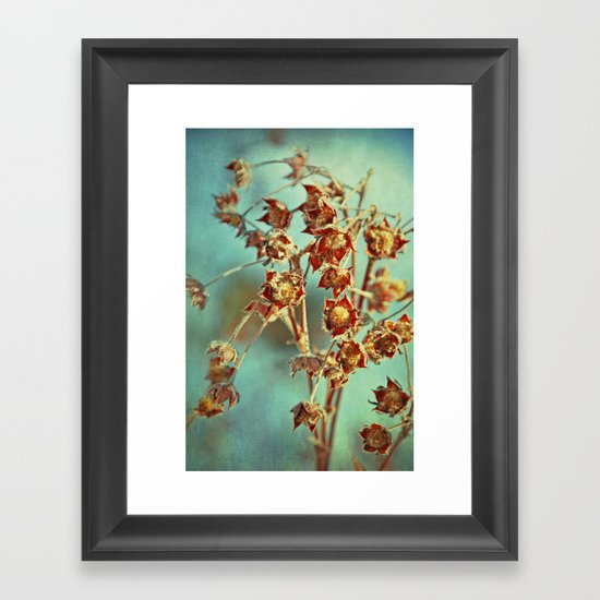 winter secrets Framed Art Print