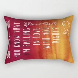 Fangirl Rectangular Pillow