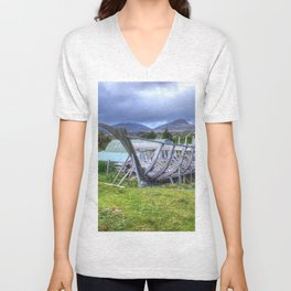 Flodabay, Isle of Harris Unisex V-Neck
