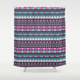 Aztec Stripes by Everett Co Shower Curtain