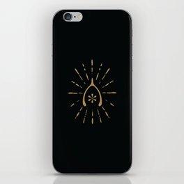 Wishbone Phone Case Carbon/Gold iPhone Skin