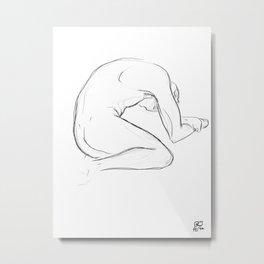 Exhaustion Metal Print