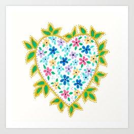 Let Your Love Grow Art Print