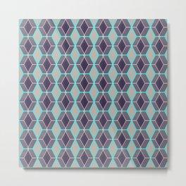 Mashrabiya pattern Metal Print