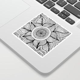 Doodle Flower Sticker