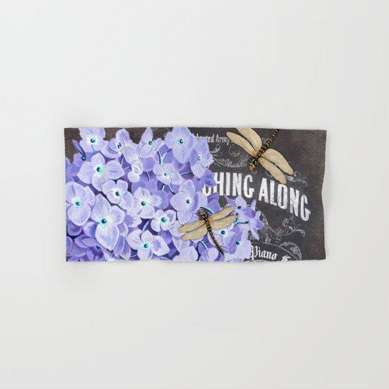 Vintage Flowers #4 Hand & Bath Towel