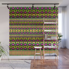 Tribal Stripe Wall Mural