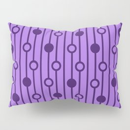 Purple Equation Pillow Sham