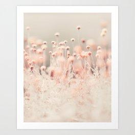 Pink Angel (two) Art Print