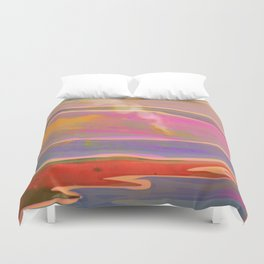 Adventure in the Volcanic Lands - Fumarole Duvet Cover