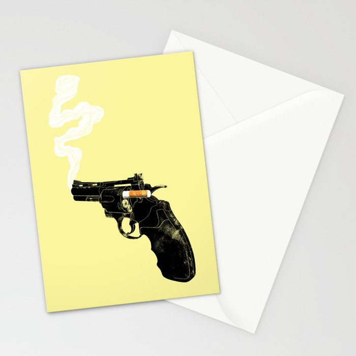Smoking Gun Stationery Cards