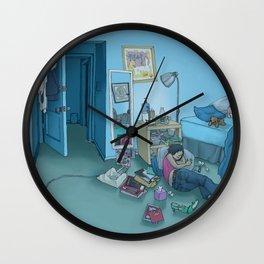 DC Sleeps Wall Clock