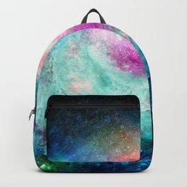 Teal Galaxy Backpack