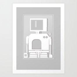 Bot 01 Art Print