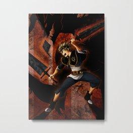 Demon Anti mage Metal Print