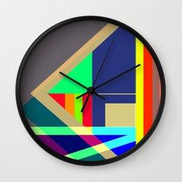 DASHING by Kimberly J Graphics Wall Clock