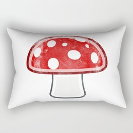 Fly Agaric - Amanita Muscaria Mushroom Rectangular Pillow