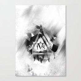 iPhone 4S Print - White Canvas Print