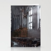 will graham Stationery Cards featuring Graham Chapel by Leah Nixon