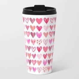 Many Hearts Travel Mug