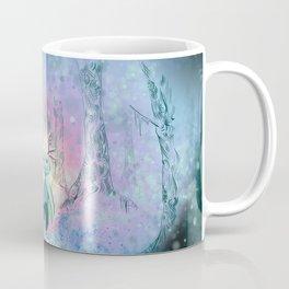 Axolotl in the woods Coffee Mug
