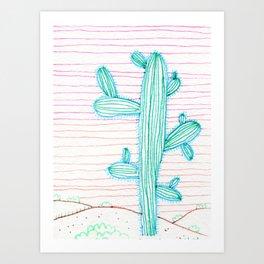 Saguaro 1 Art Print