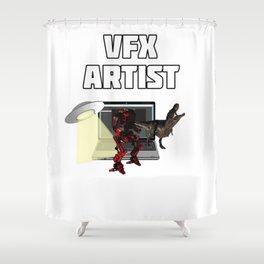 VFX Artst Shower Curtain