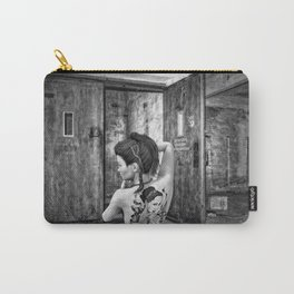 Tattooed naked girl Carry-All Pouch