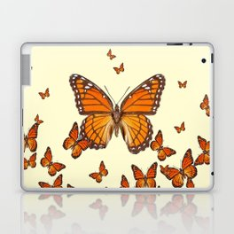 MONARCH BUTTERFLY SWARM Laptop & iPad Skin