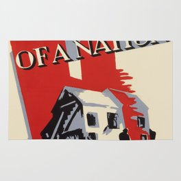 Vintage poster - One Third of a Nation Rug