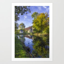 The Autumn Pond Art Print