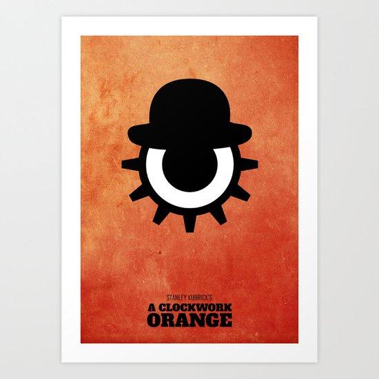 A Clockwork Orange - Minimal Art Print