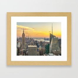 New York, New York 2 Framed Art Print