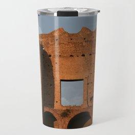 Windows and Clouds Palatine Ruins Rome Travel Mug