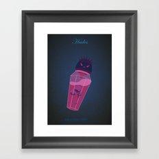 Hades | Villains do It Better Framed Art Print