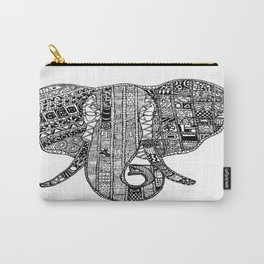An Elephant at a time Carry-All Pouch
