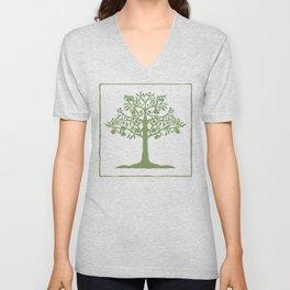 Pear Tree (Green) Unisex V-Neck