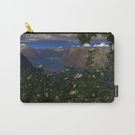 Blackberry Patch 3D Fractal Render Carry-All Pouch