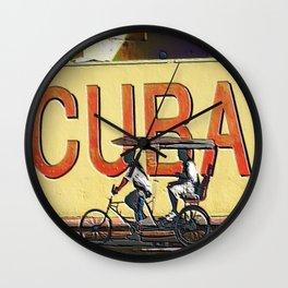 Viva Cuba Libre! Wall Clock