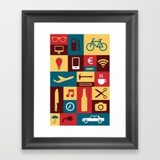 Tools for life Framed Art Print