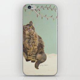 Christmas Cat iPhone Skin