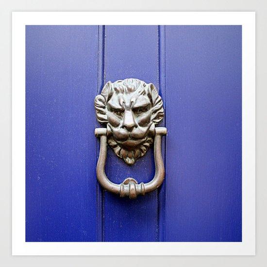 Knock Knock Art Print