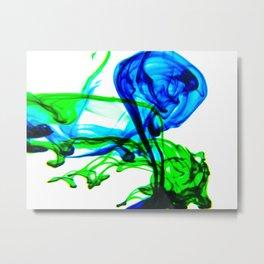 Dye no.8 Metal Print