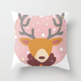 Cartoon Lovely Beer Throw Pillow