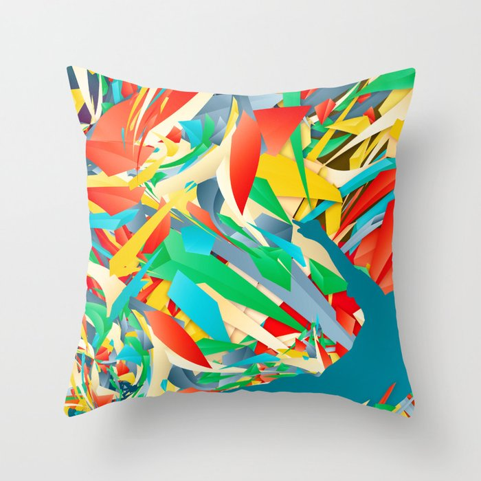 Slide Tackle | Soccer | I Love This Game Throw Pillow