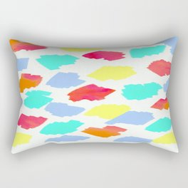 colors Rectangular Pillow