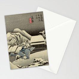 Kanbara Yoru No Yuki Korra and Naga Stationery Cards